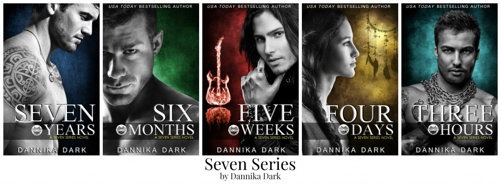 Seven Series (bk 1 - 5) Collage