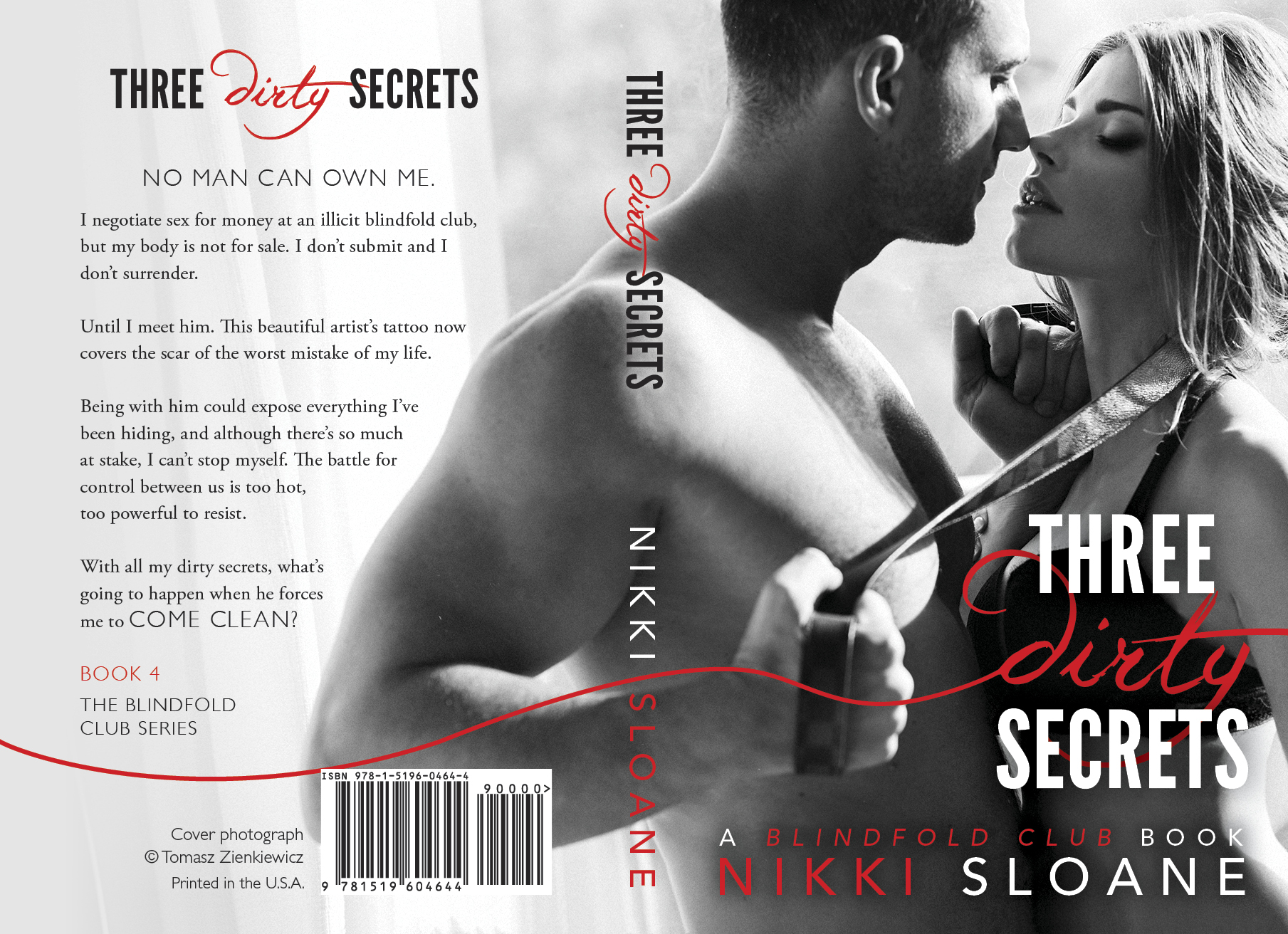 Three Dirty Secrets Full Jacket