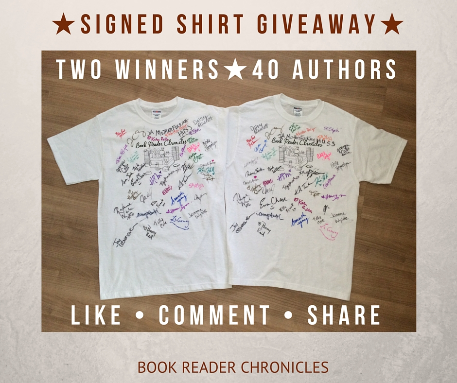 SIGNED SHIRT GIVEAWAY