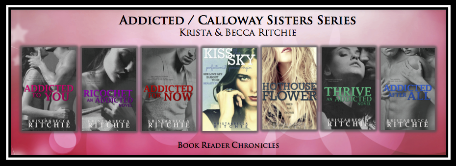 INTERVIEW & GIVEAWAY: Krista & Becca Ritchie – Addicted